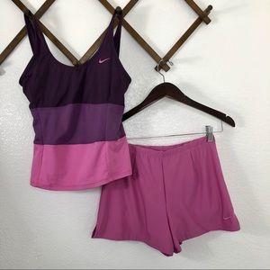 NIKE | Fit Dry Tennis Tank Top & Shorts